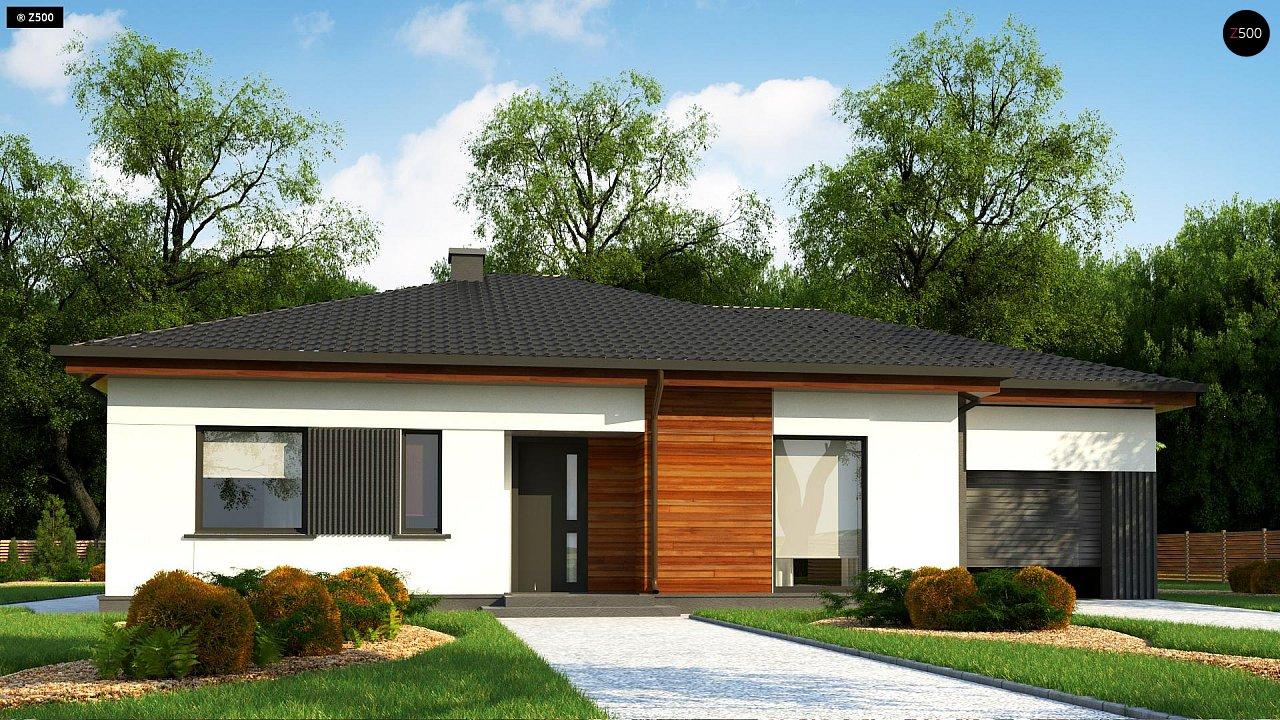 Удобный одноэтажный дом небольшой площади 2