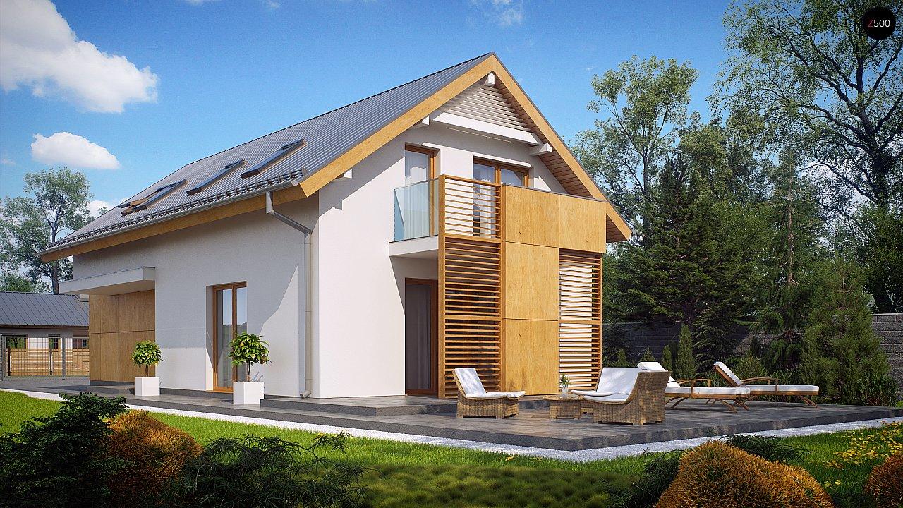 Практичный и уютный дом, идеально подходящий для вытянутого участка. 3