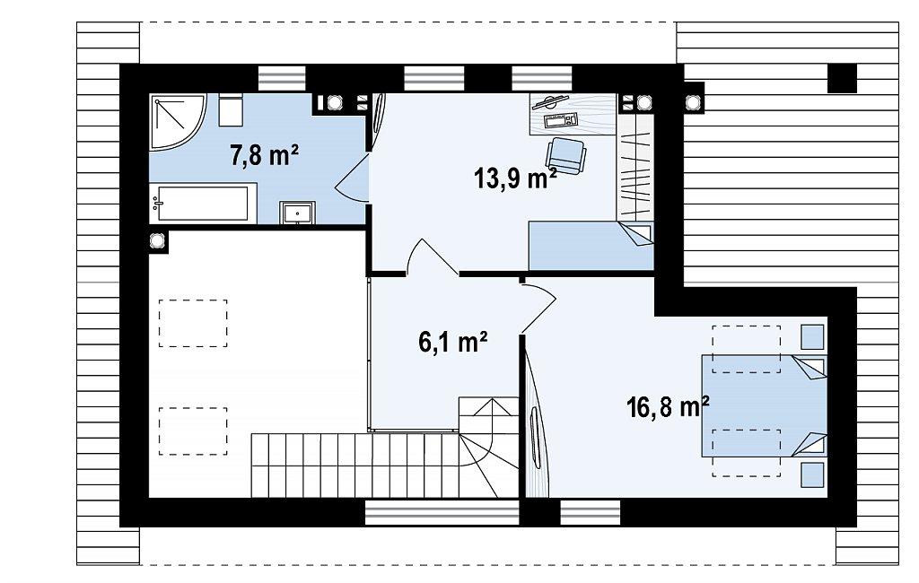 Проект бани с дополнительными комнатами отдыха план помещений 2