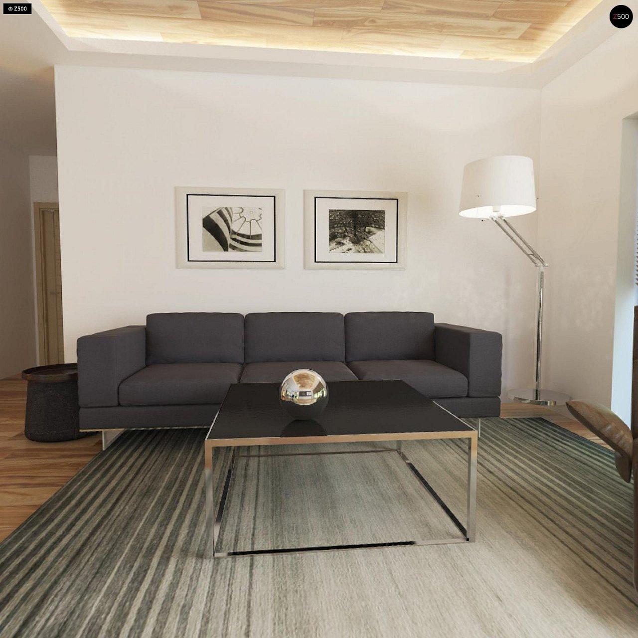 Небольшой дом из газобетона в стиле хай-тек — элегантный, практичный и экономичный. - фото 8