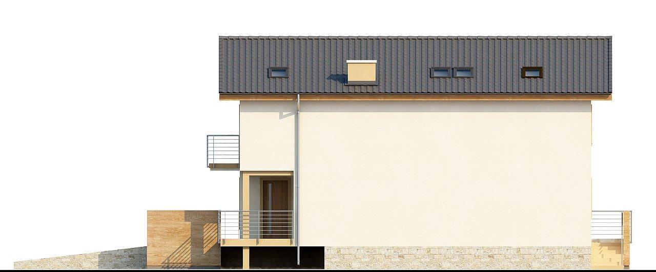 Проект выгодного и практичного двухэтажного дома с подвальным помещение, с дополнительной комнатой на первом этаже. - фото 6