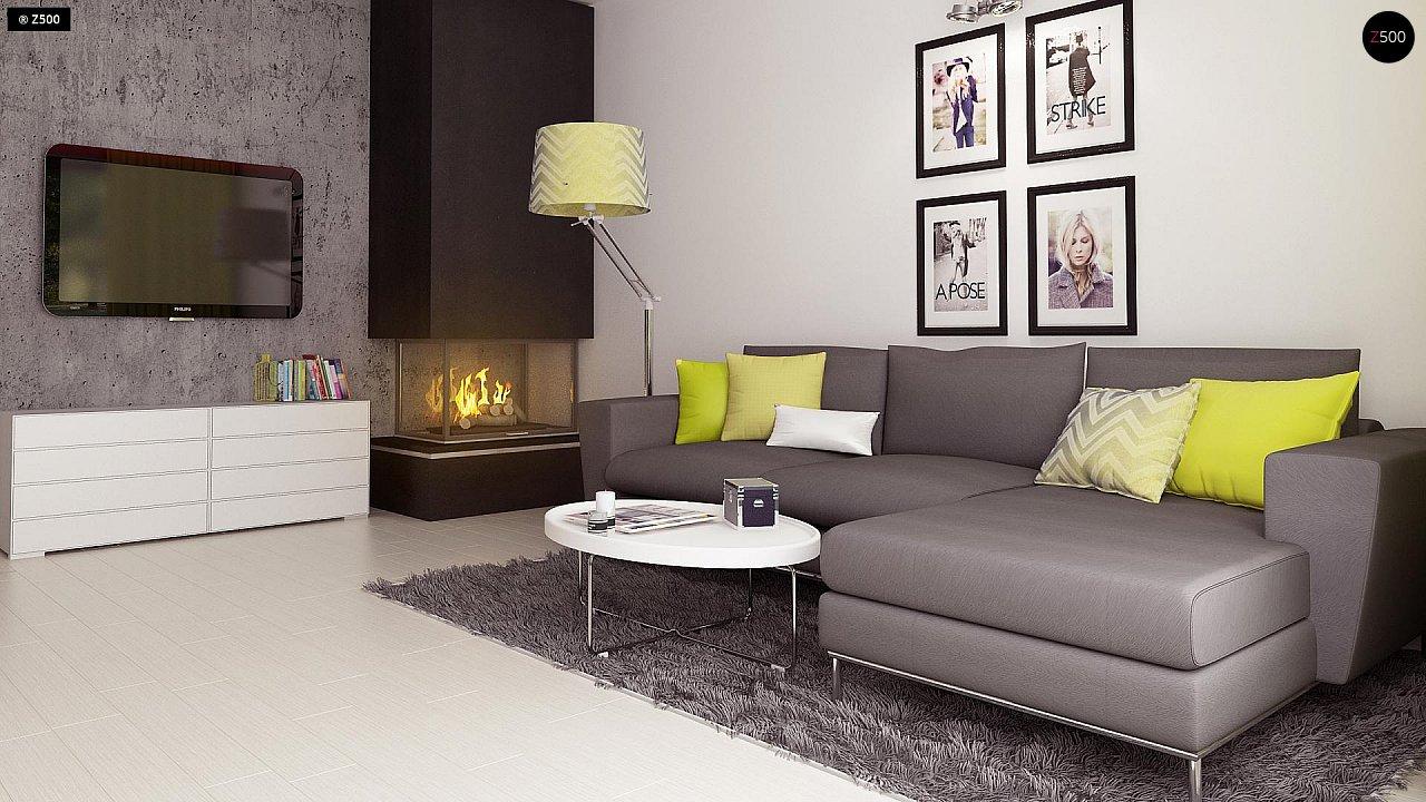 Компактный и удобный дом традиционной формы, подходящий, также, для узкого участка. 6