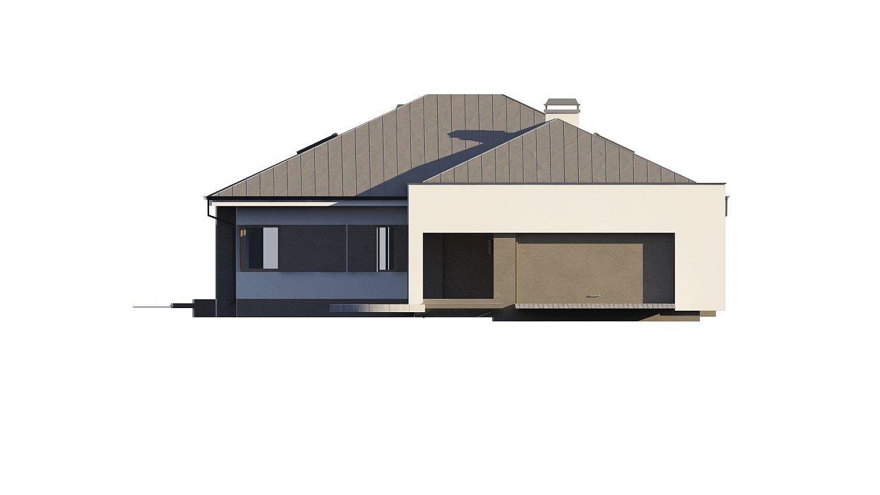 Комфортный элегантный дом с тремя спальнями и выступающим фронтальным гаражом. 14