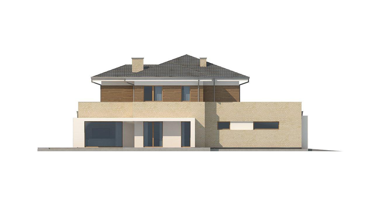 Современный комфортный двухэтажный дом с баней 11