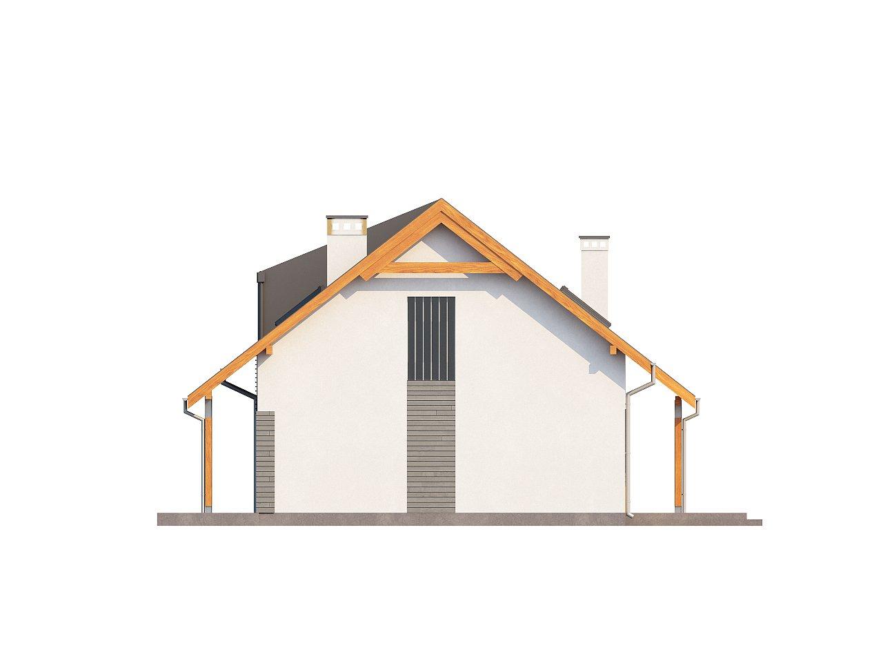 Проект небольшого практичного дома, выгодного в строительстве и эксплуатации. - фото 6