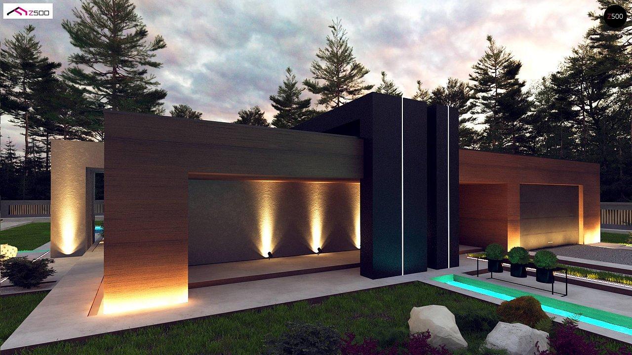 Современный дом с одноуровневой планировкой для большой семьи. - фото 2