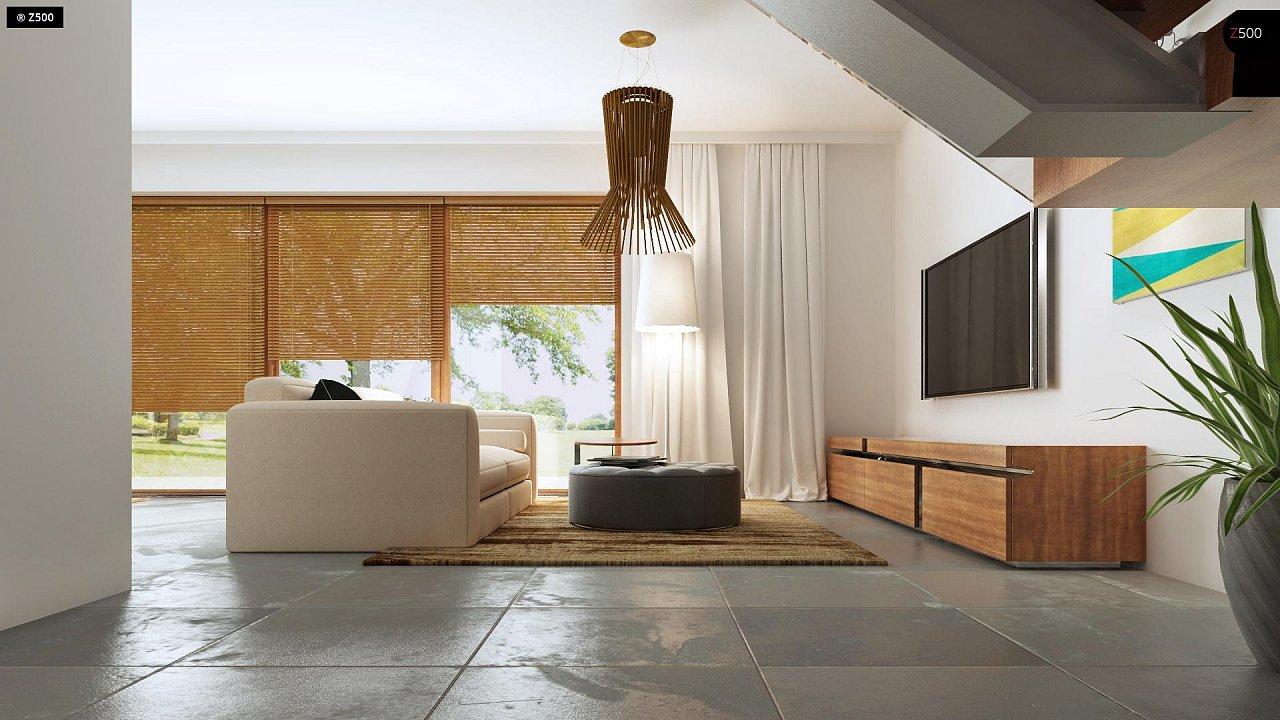 Дома близнецы стильного современного дизайна. 6