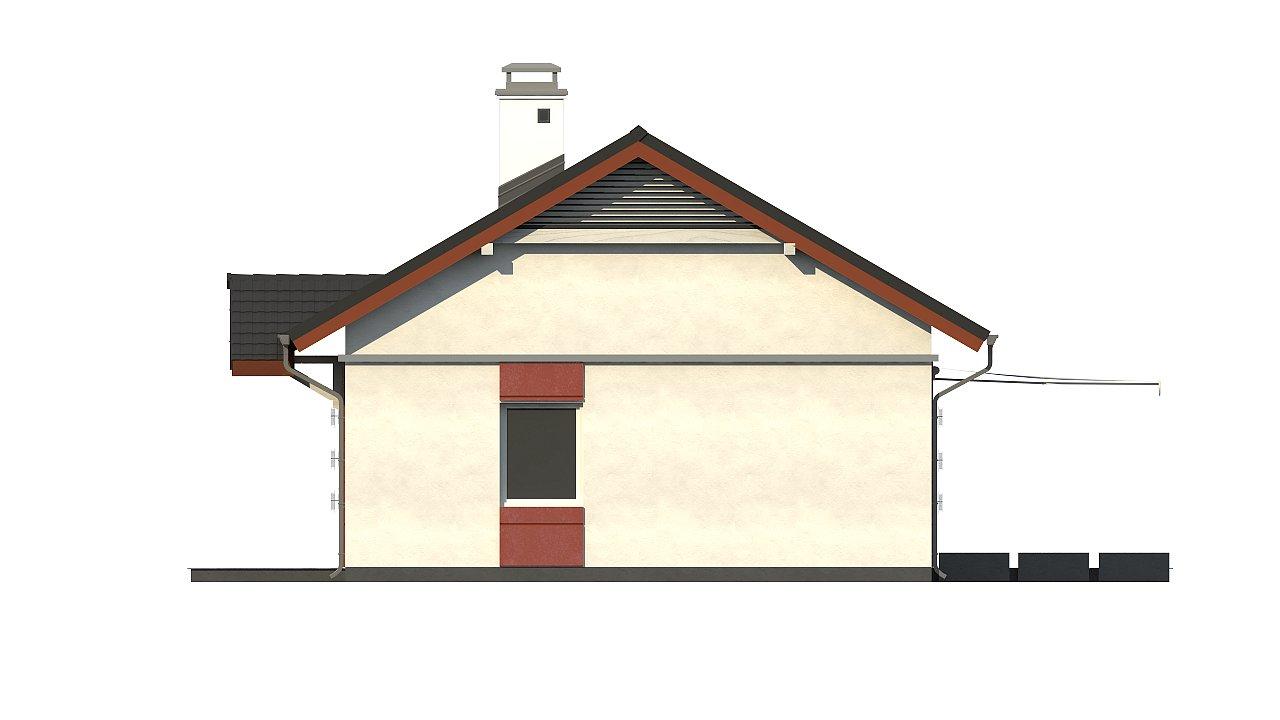 Аккуратный одноэтажный дом в классическом стиле. - фото 25