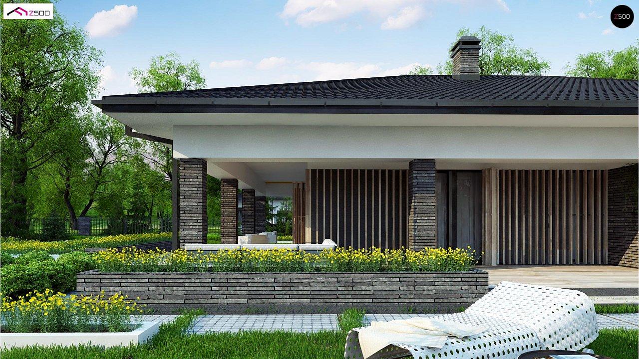 Проект стильного одноэтажного дома в традиционном стиле - фото 4