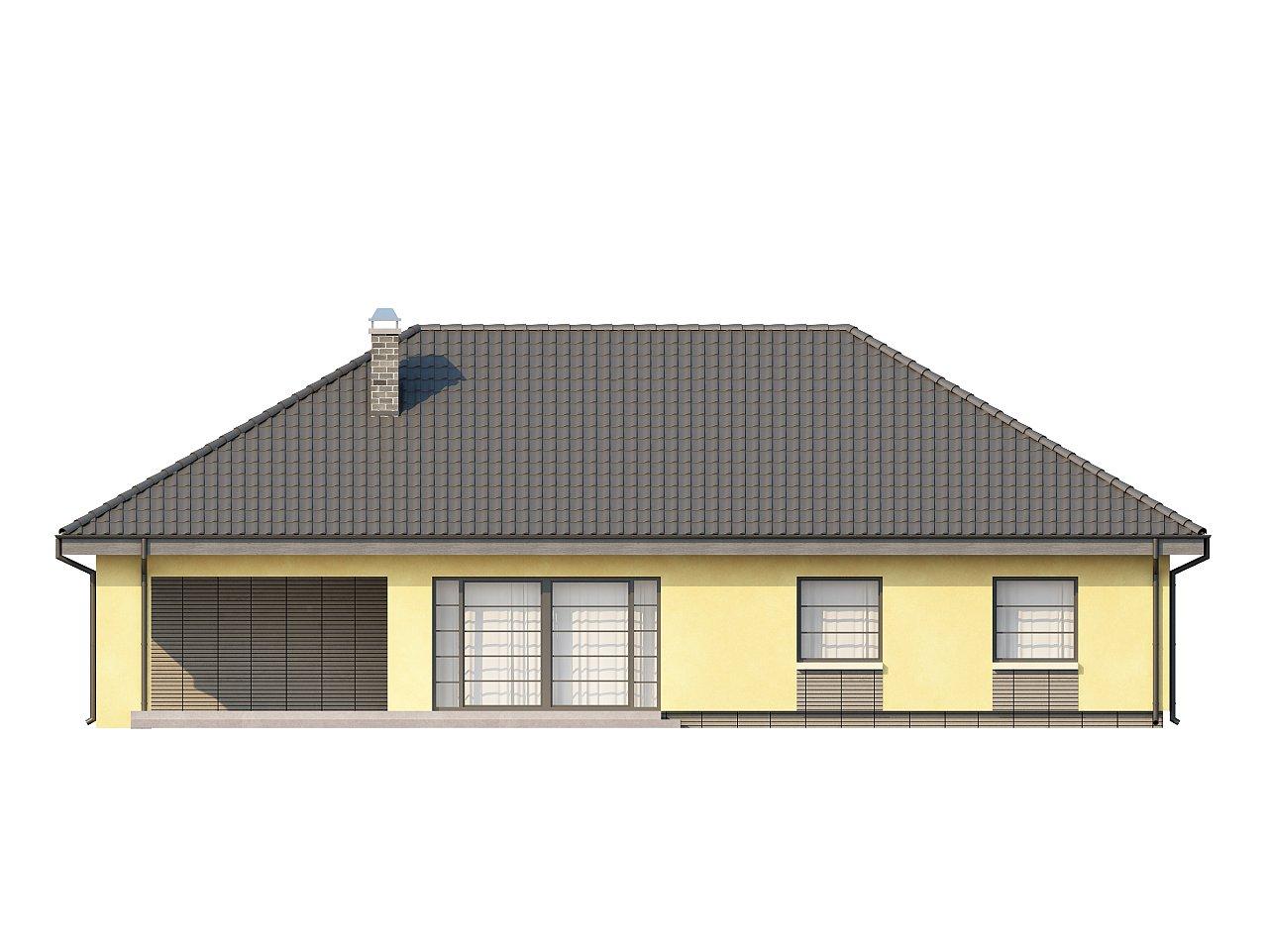 Одноэтажный дом традиционного характера с тремя удобными спальнями и встроенным гаражом. - фото 22