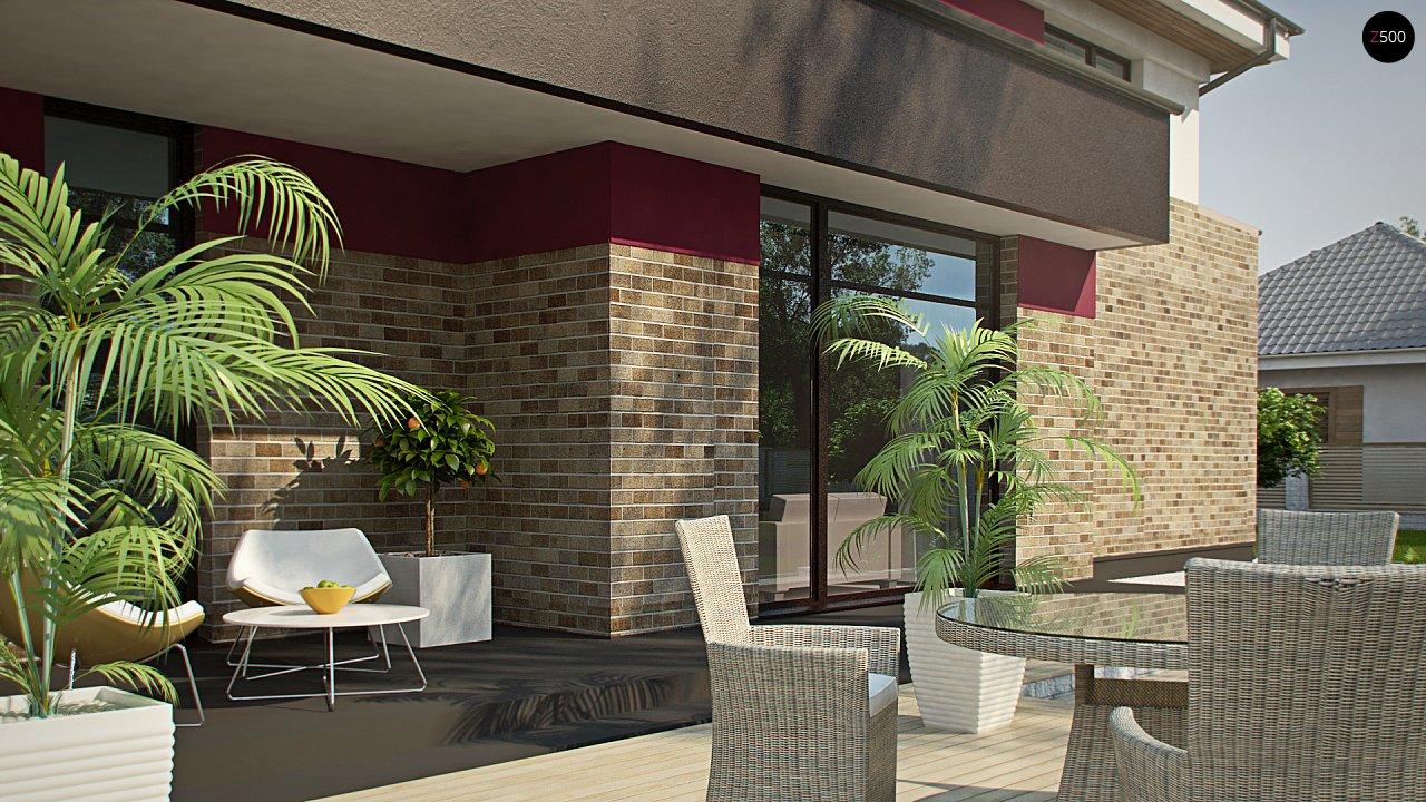Двухэтажный дом с просторной гостиной, с сауной на первом этаже. 7