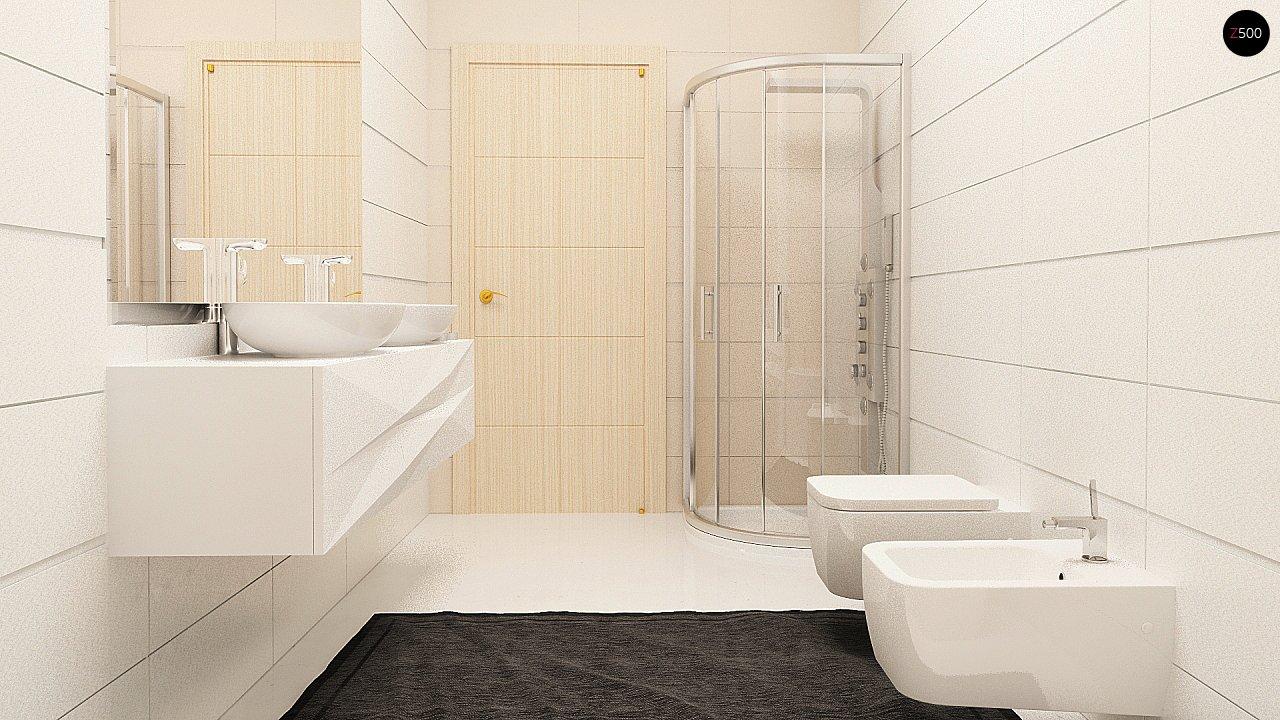 Комфортный дом привлекательного дизайна с дополнительной комнатой над гаражом. 12
