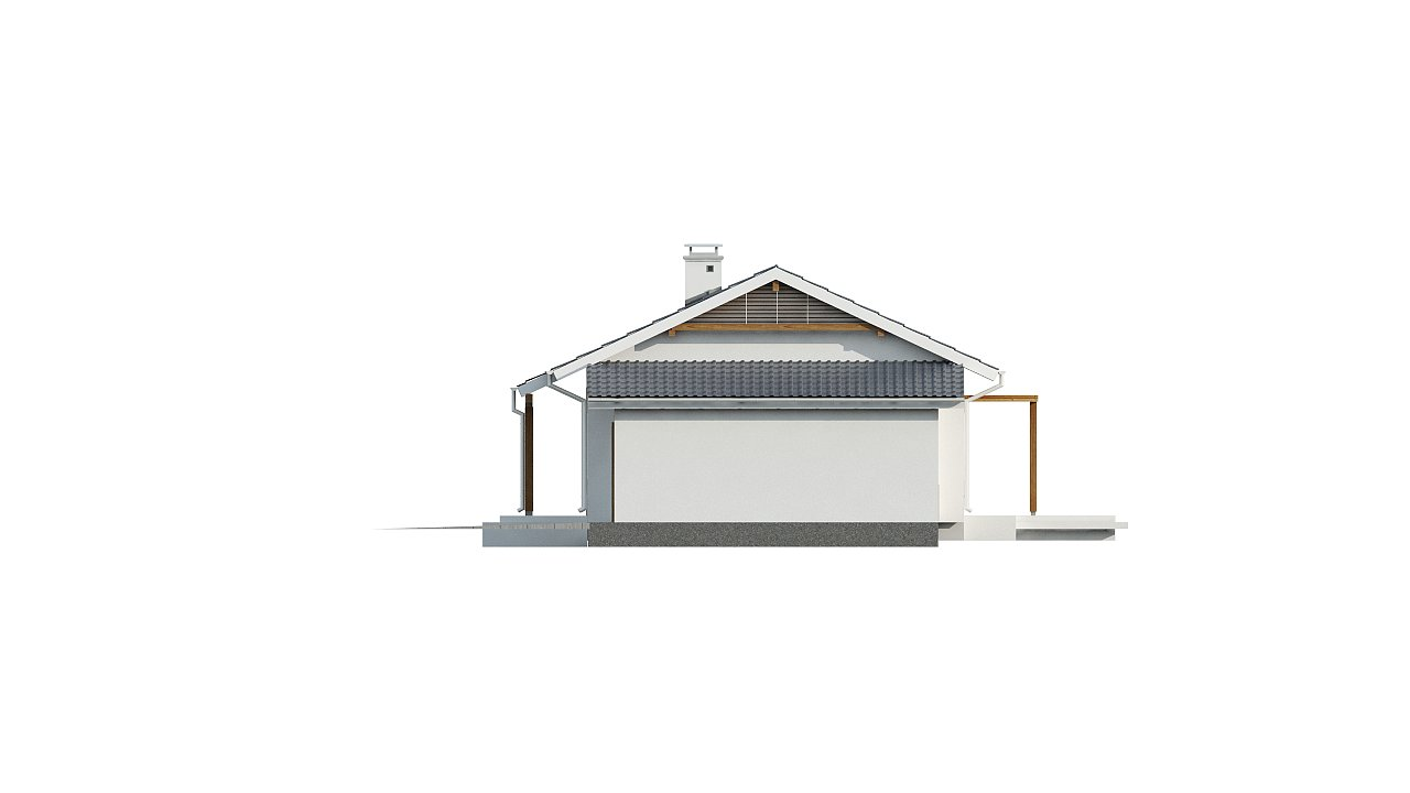 Версия проекта Z136 с гаражом. 13