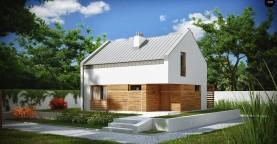 Энергосберегающий дом стильного современного дизайна.