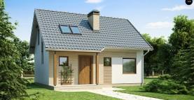 Практичный функциональный дом, недорогой в строительстве и эксплуатации.