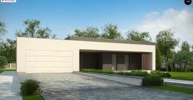 Современный дом с 4 спальнями, гаражом на 2 машины и большими окнами