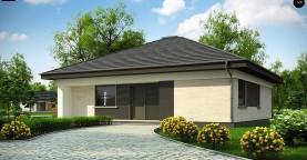 Проект компактного и функционального одноэтажного дома