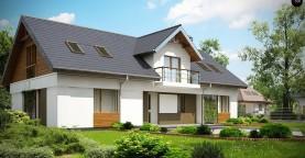 Практичный двухквартирный дом с общими входом и техническим помещением.
