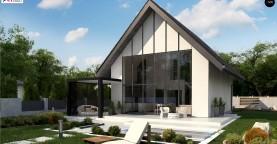 Проект компактного уютного дома со вторым светом