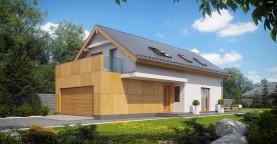 Практичный и уютный дом, идеально подходящий для вытянутого участка.