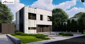 Функциональный двухэтажный дом в форме куба.