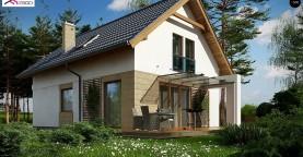 Проект мансардного дома с 4 спальнями и кабинетом.