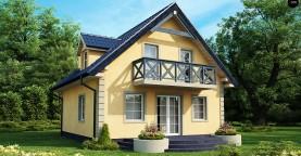 Очаровательный и практичный дом с мансардой в традиционном стиле.