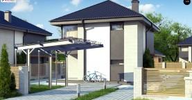 Современный двухэтажный дом с практичной планировкой