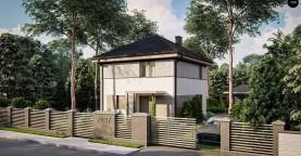 Функциональный двухэтажный дом