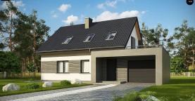 Проект комфортного дома в современном европейском стиле.