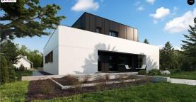 Дом в современном стиле с подвалом