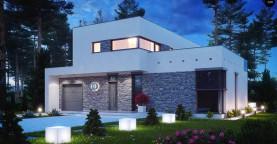 Koмфортабельный особняк в стиле модерн элегантного дизайна.