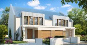 Дома близнецы стильного современного дизайна.