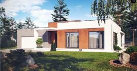 Комфортный современный дом со светлым и уютным интерьером.