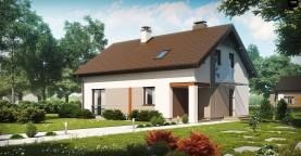 Аккуратный и функциональной дом простой формы, экономичный в строительстве и эксплуатации.