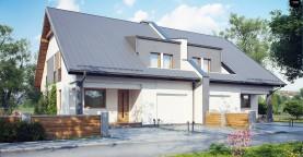Проект домов близнецов для двух дружественных семей.