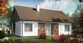 Версия проекта Z7 с углом наклона крыши 35 градусов.