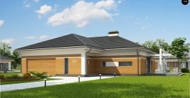 Классический вариант реализации фасадов на основе проекта Z208.