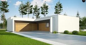 Современный плоскокровельный дом с компактной и удобной планировкой