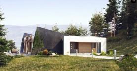 Одноэтажный дом исключительного современного дизайна.