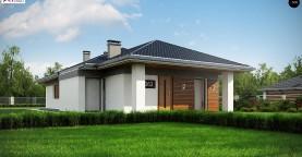 Проект уютного одноэтажного дома с 3 спальнями