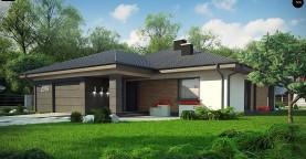 Проект стильного одноэтажного дома с функциональной планировкой