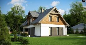 Современный жилой дом с гаражом