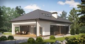 Версия проекта Z85 с современным оформлением фасадов.