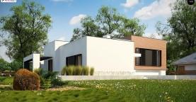 Современный дом минималистичного дизайна с подвалом