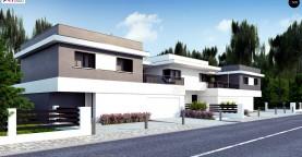 Современный двухсемейный дом с отдельными входами