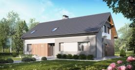 Проект двухсемейного дома с отдельной удобной «квартирой» площадью 58 м2.