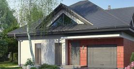 Проект одноэтажного дома Z278 адаптированный под строительство в сейсмических районах
