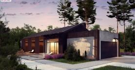 Дом в необычном современном стиле для большой семьи