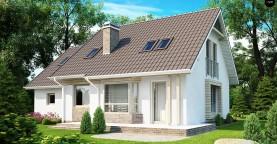 Проект стильного выгодного и функционального дома.